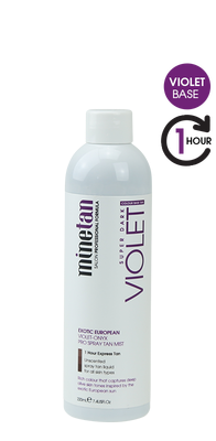 Mine Tan Skin Body Violet Onyx Mini 220 ml