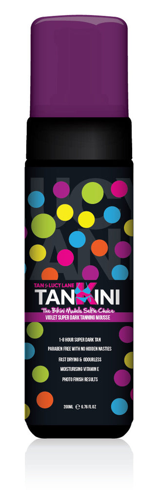 Tan by Lucy Lane Tankini Mousse 200 ml and Tan Applicator Mitt
