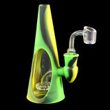 Silicone Glass Hybrid Cone Waterpipe