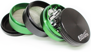 Sharper Black/Green Grinder - (40mm)