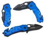 Blue Dragon Spring Assisted Knife