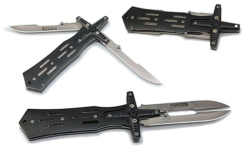 Double Blade Cross Knife