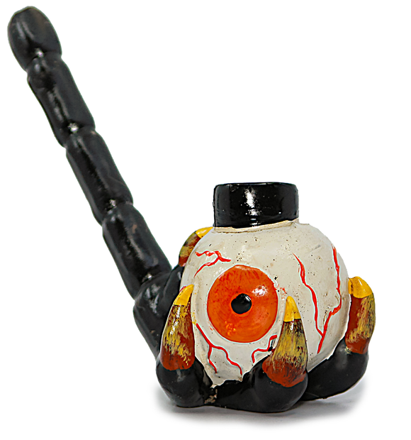 Resin Pipe Claw Eyeball