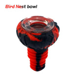 Waxmaid Bloodshot Eyeball (Silicone + Glass) Bowl