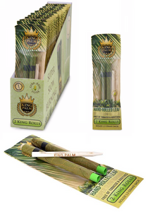 King Palm Super Slow Burning Wraps - King Size 2 Packs - (24ct)