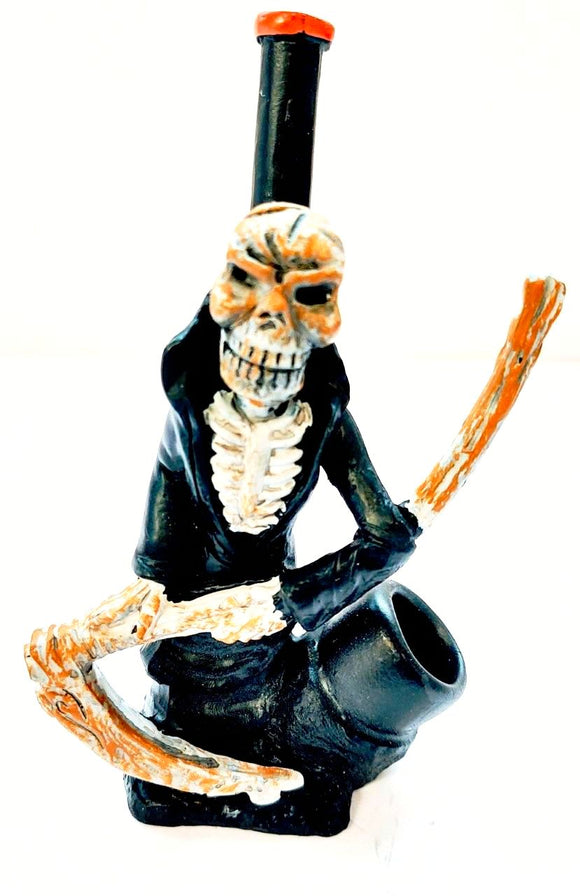 Resin Pipe Skull Blazer