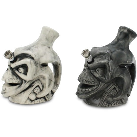 Joker Skull Ceramic Water Pipe