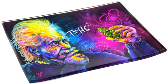 V. Syndicate T=HC2 Einstein Glass Tray