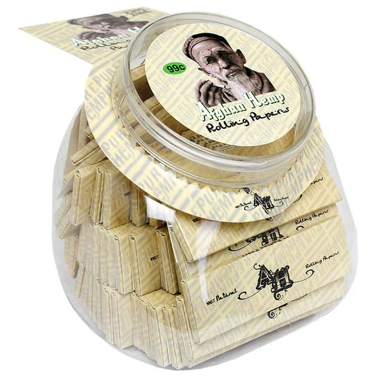 Afghan Hemp Rolling Papers 1 1/4 Size Jar (50ct)