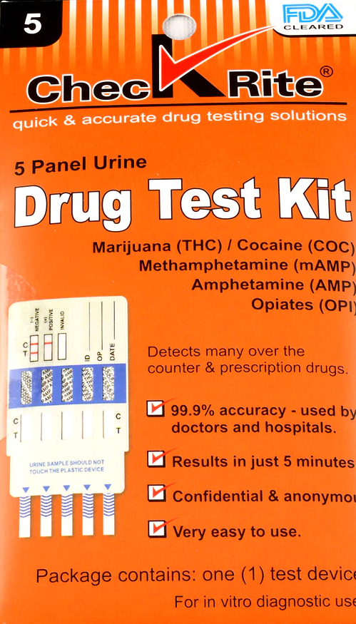 Drug Test Kit (5 Panel)
