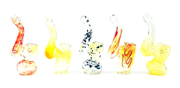 Mini Gold Fumed Sherlock Bubbler