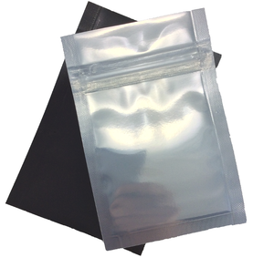 "Black Mylar Bag  ~5""x5"""