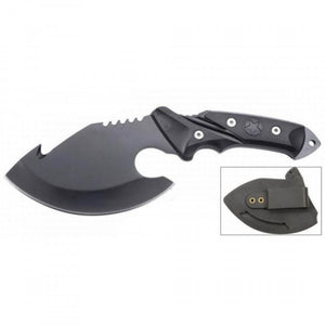 "10"" Black Skinner Knife with Sheath"