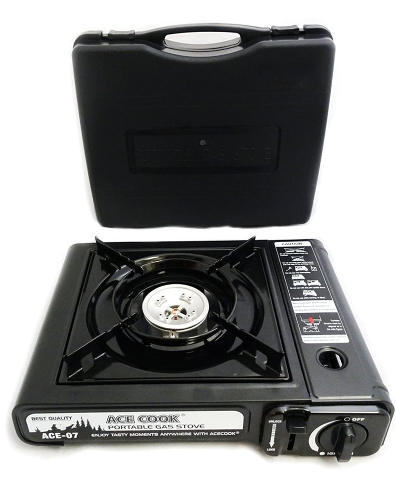 Excellent Portable Butane Gas Stove With Carrying Case Interior Design Ideas Clesiryabchikinfo