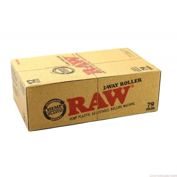 Raw 2 Way Eco Plastic Roller (79mm) (12ct)