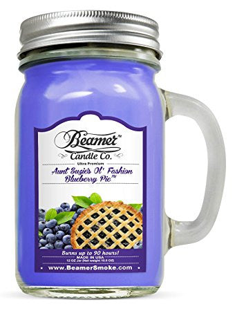 Beamer Candle Co. Aunt Suzie's Ol' Fashion Blueberry Pie Scented Jar candle