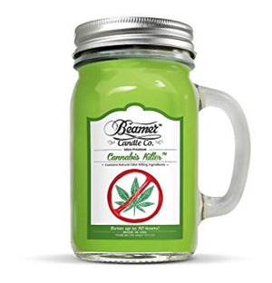 Beamer Candle Co.  Killer Scented Jar candle