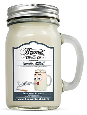 Beamer Candle Co. Smoke Killer Scented Jar candle