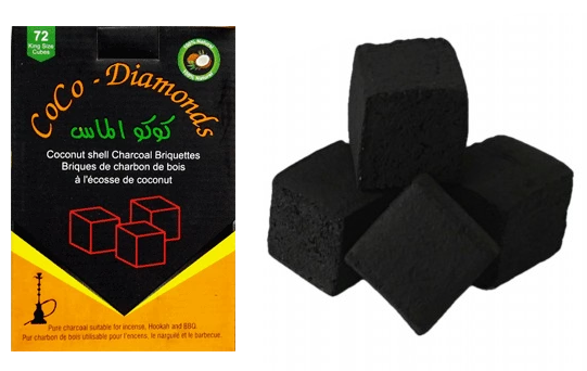 CoCo Diamonds Charcoal Large