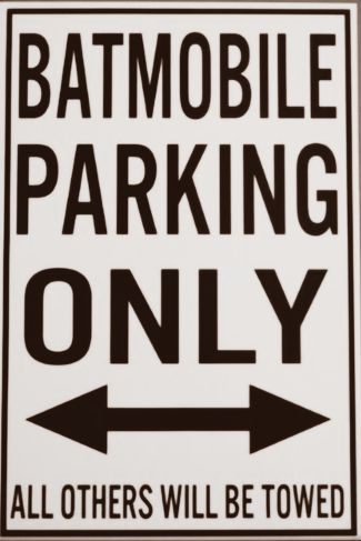 Sign - Bat Only