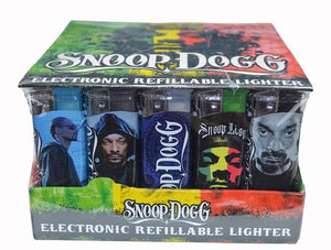 Snoop Dogg Electronic Refillable Lighters (50ct)