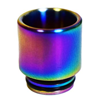 Drip Tip Metal Rainbow Mouthpiece for Smok