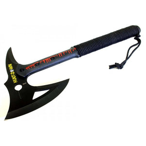 "16"" Hunt-Down Tactical Axe with Black Blade"