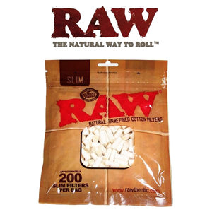 RAW Cigarette filters from Cellulose Slim