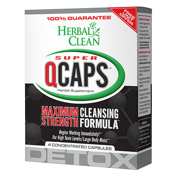 Herbal Clean Super QCaps (4ct)