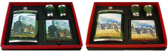 5 Piece Flask Gift Set