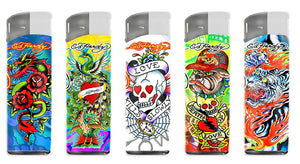 Ed Hardy Refillable Lighters (50ct)