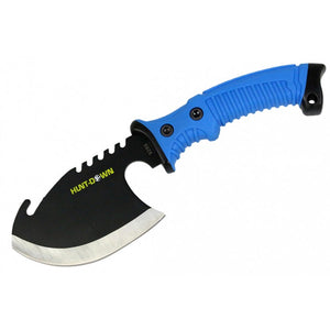 "10.5"" Hunt-Down Axe with Blue Rubber Handle"