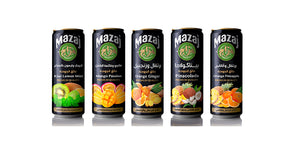 Mazaj - Kiwi Lemon Mint (case of 24)