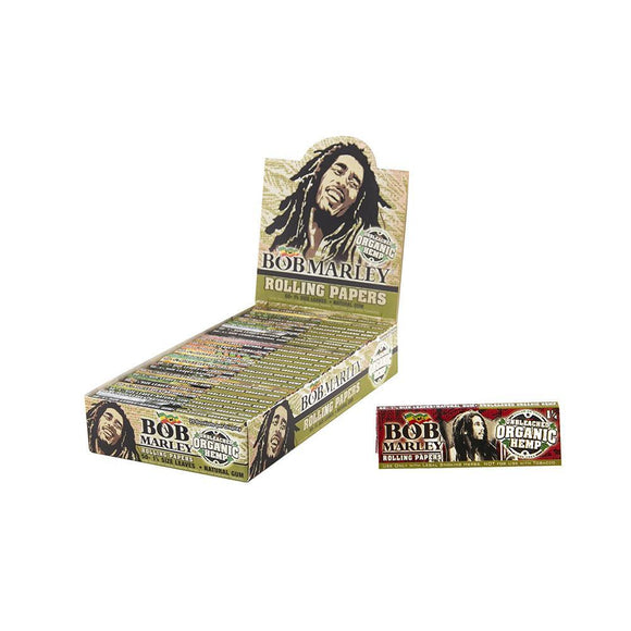 Bob Marley Unbleached Organic Rolling Papers 1 1/4