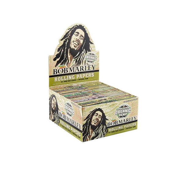 Bob Marley Unbleached Organic King Size Rolling Paper