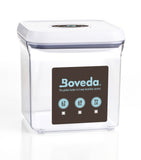 Boveda's Clear OXO Container