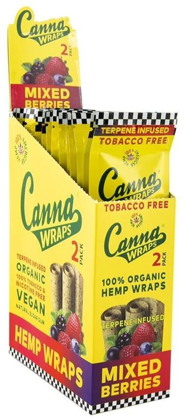 Canna Wraps - Mixed Berries