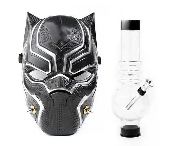 Underground Gas Mask - Black Cat