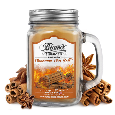 Beamer Candle Co. Cinnamon Fire Ball Scented Jar candle