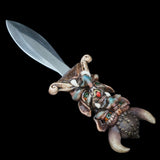 PK535 Viking Warrior Totem Knife