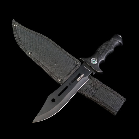 Survival Knife With Compass