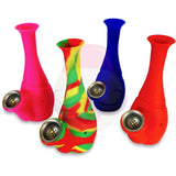 "Mini Silicone Water Pipe (6"")"