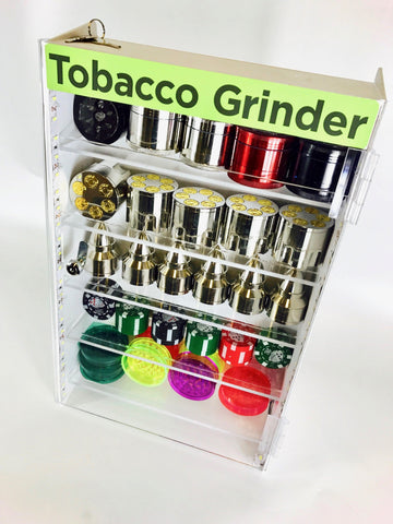 Novelty Grinders w/ Display Case