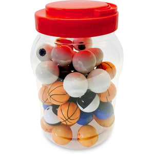 Assorted Silicone Container (Jar of 50)