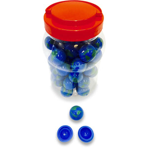 Earth Ball Silicone Container (Jar of 50)