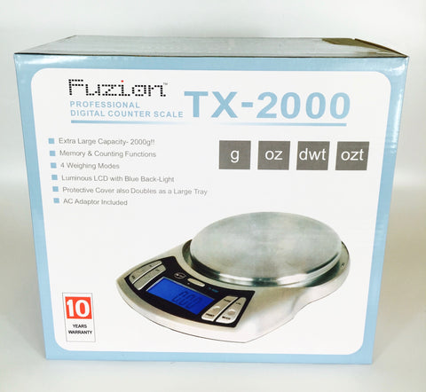 Fuzion TX-2000 Digital Kitchen Scale