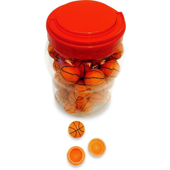 Basketball Silicone Container (Jar of 50)