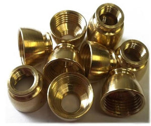 Gold Female Bowl Metal Replacement Part