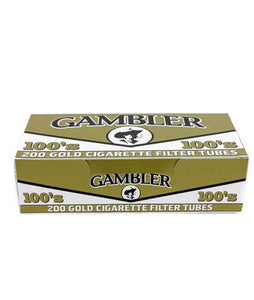 Gambler Gold 100s (5 Sleeves of 200ct)