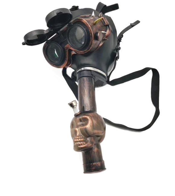 Steam Punk Spiked Goggles Gas Mask
